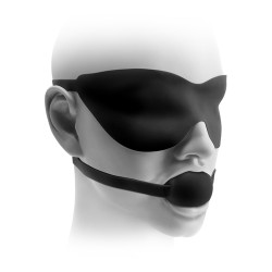 Fetish Fantasy Elite Bal gag en masker Small